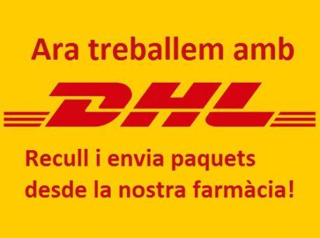 Ara enviem i rebem els teus paquets de DHL